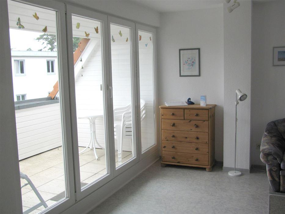 Wohnzimmer - Haus Wattwurm, Wohnung 6, 2-Zimmer-Ferienwohnung, Waldstraße 17a, St. Peter-Ording