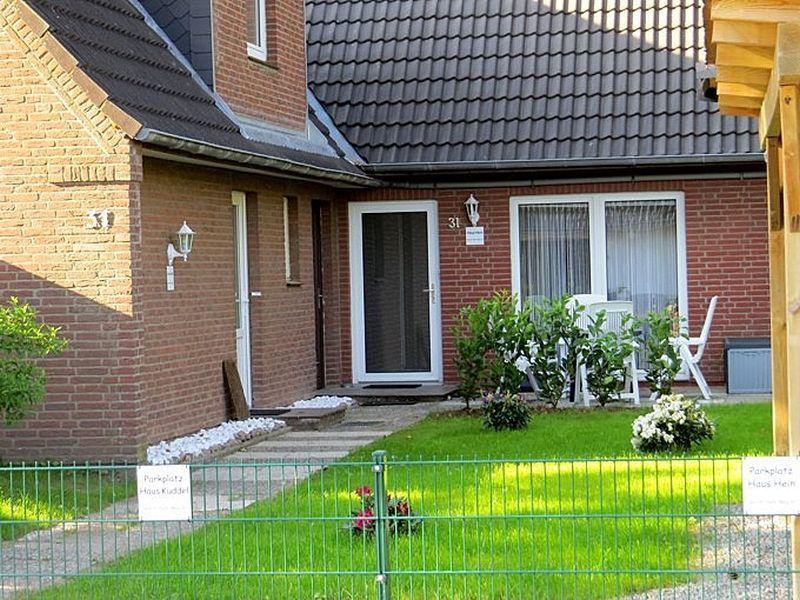 """Aussenansicht - St Peter Ording Bad, Haus """"Kuddel und Hein"""", Haushaelfte """"Hein"""", Gorch-Fock-Weg 31"""