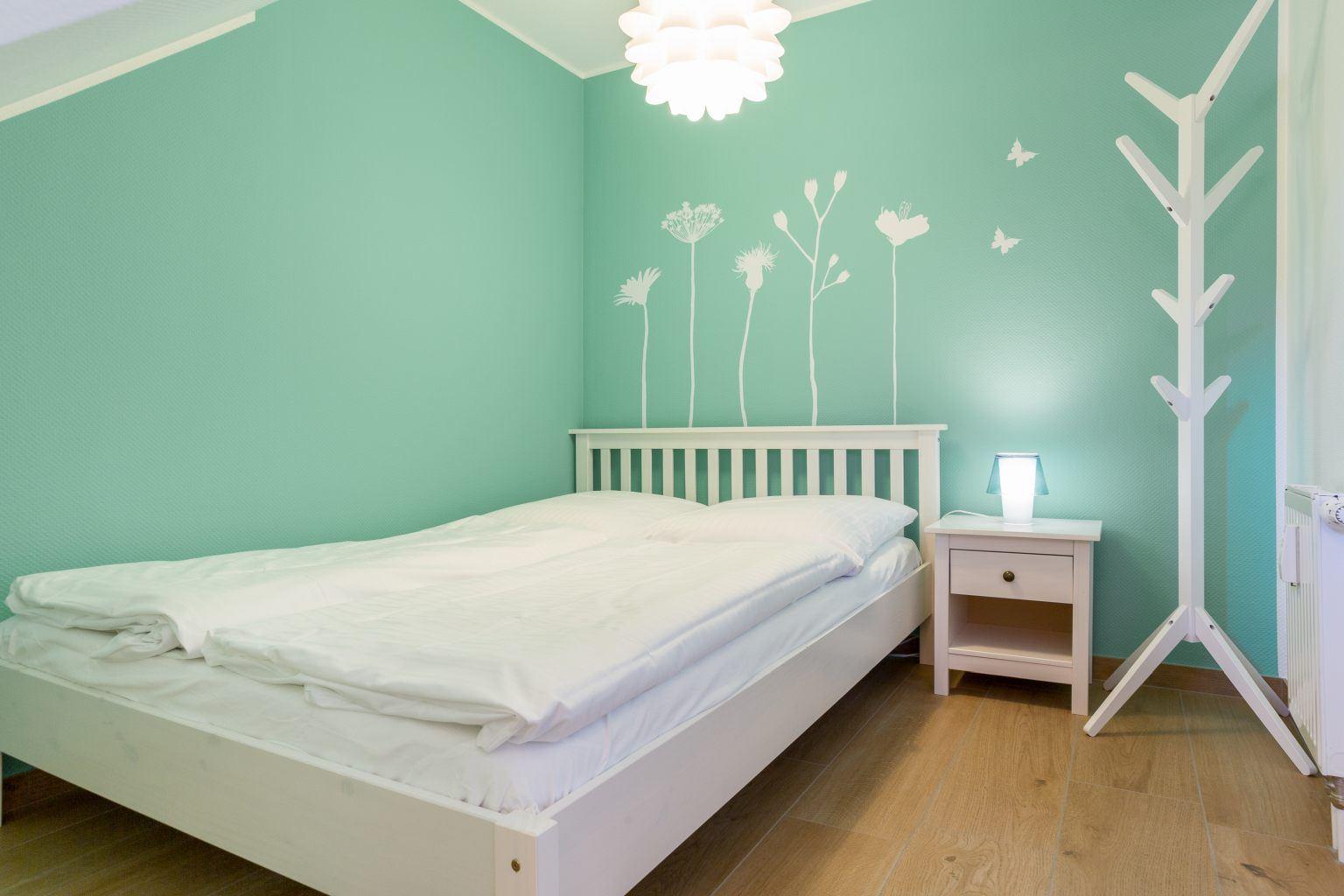 """2. Schlafzimmer - St Peter Ording Bad, Haus Duenen un Diek, Wohnung 4 """"Ahoi"""""""