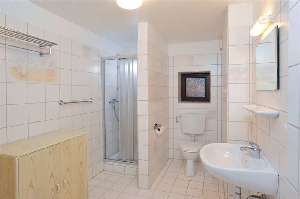 Badezimmer - Haus Everschop, Wohnung EG hinten, Norderdeich 7, St. Peter Ording