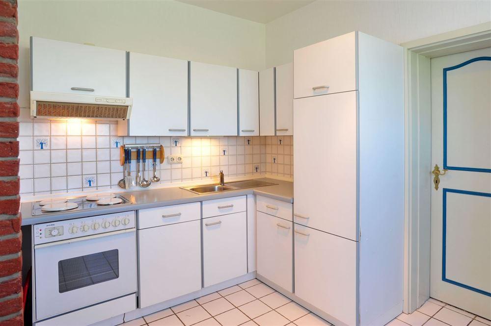 Küche - Haus Everschop, Wohnung EG hinten, Norderdeich 7, St. Peter Ording