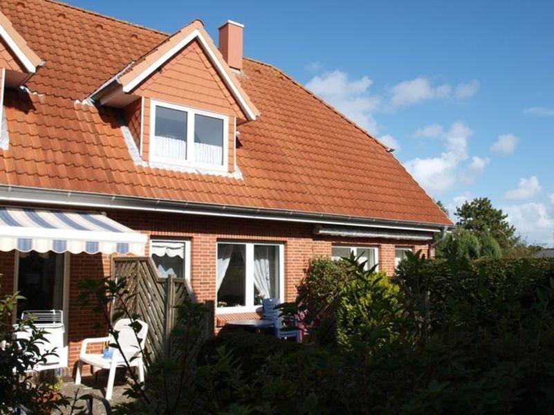 """Terrasse - Haus """"Boehler Eck"""" Hausteil 152c,  3-Zimmer-Ferienhaus, 4 Personen,  Böhler Landstraße 146-154, St. Peter-Böhl"""