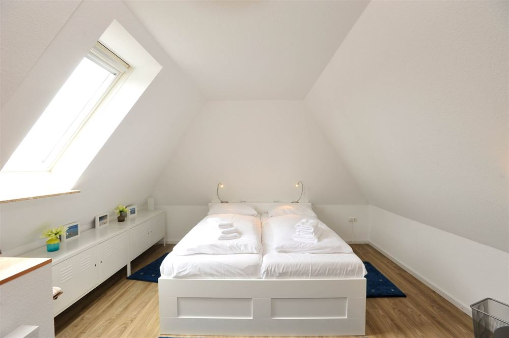 """2. Schlafzimmer - St Peter Ording Dorf, Haus Fasanenweg 12, Wohnung 4 """"Timm"""""""