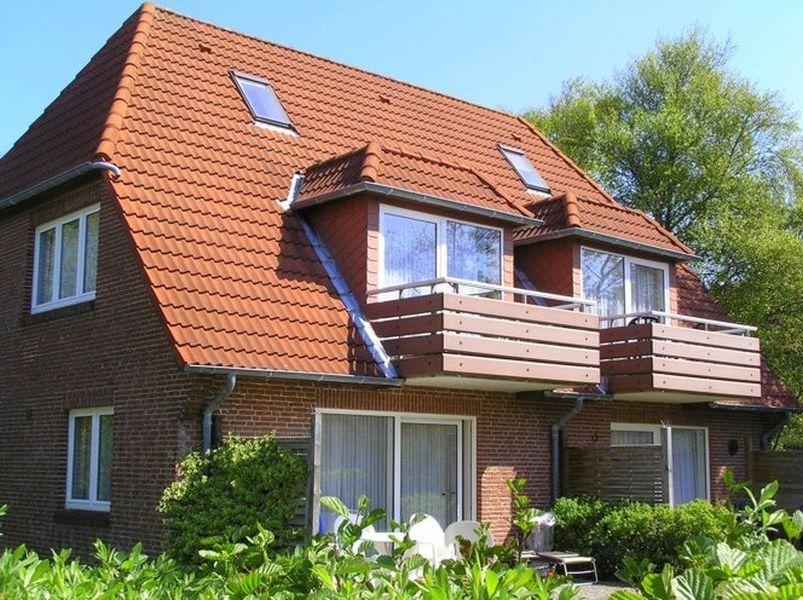 """Aussenansicht - St Peter Ording Dorf, Haus Fasanenweg 12, Wohnung 4 """"Timm"""""""