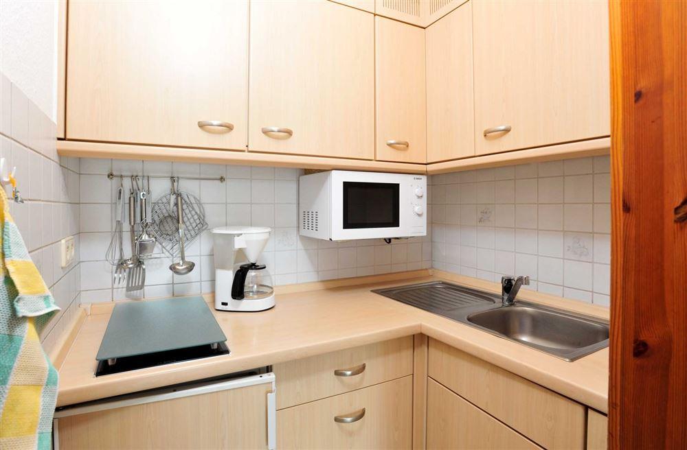 Küche  Haus Quisisana Wohnung 12, Strandpromenade 5-7, St. Peter-Bad