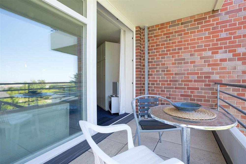 "Balkon Haus Quisana SPO, Wohnung 13 ""Wattläufer"" , Strandpromenade 5-7, St. Peter-Bad"