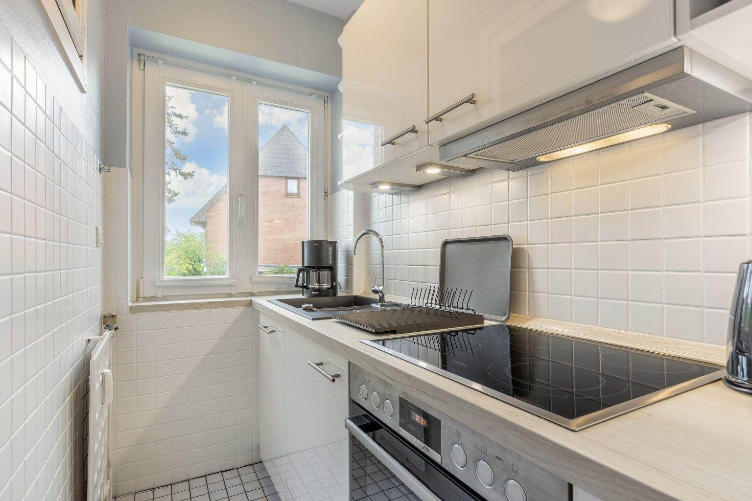 "Küche - St Peter Ording Bad, Haus Colonia, Wohnung 1 ""Seestern"", Im Bad 81"
