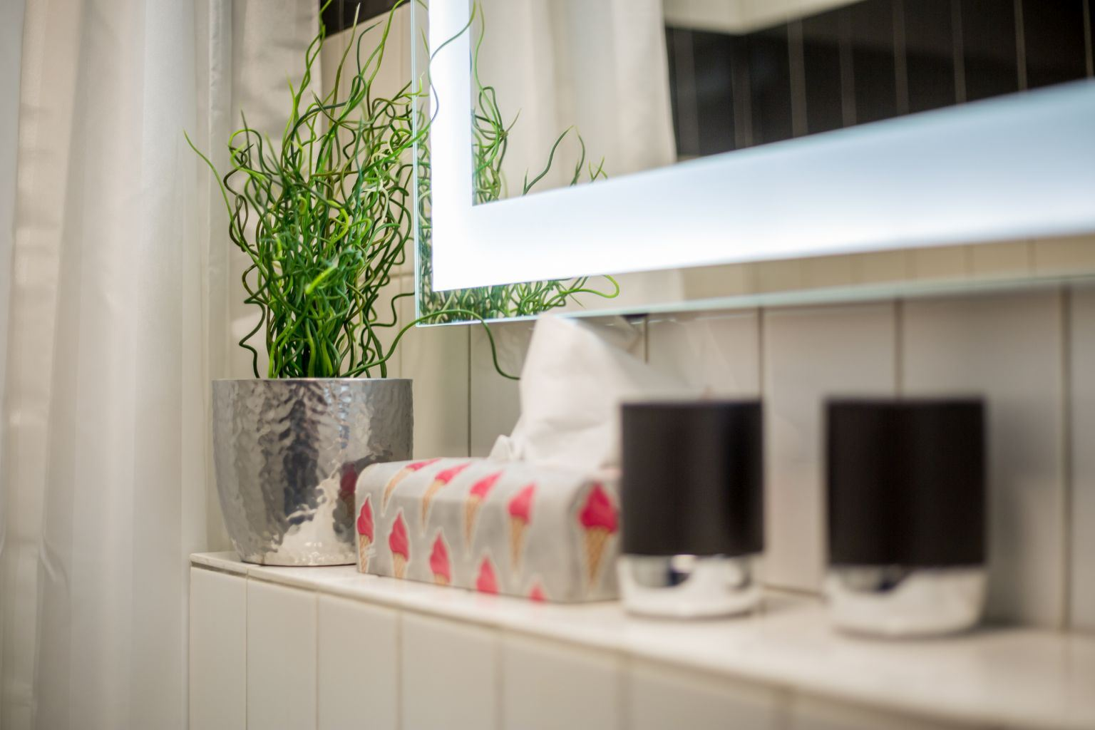 Badezimmer - Haus Loreley, Wohnung 26, Im Bad 37, St. Peter-Bad