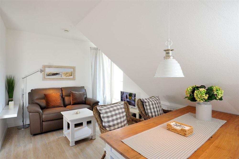 Wohnzimmer Haus Austernfischer Wohnung 3 (ID 181) St. Peter-Bad, SPO