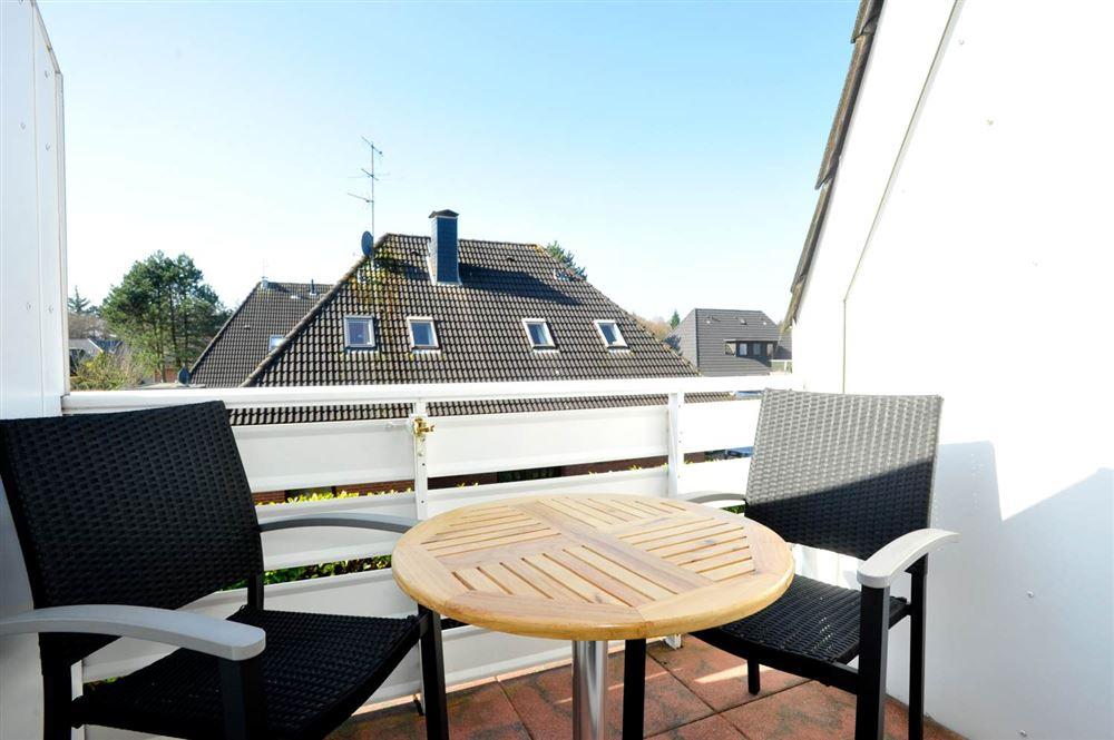 Balkon Haus Austernfischer Wohnung 3 (ID 181) St. Peter-Bad, SPO