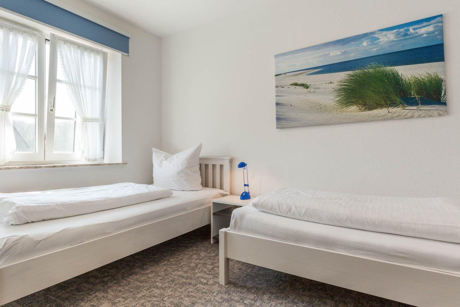 2. Schlafzimmer Haus Paulsen, Zum Südstrand 12, St. Peter-Dorf