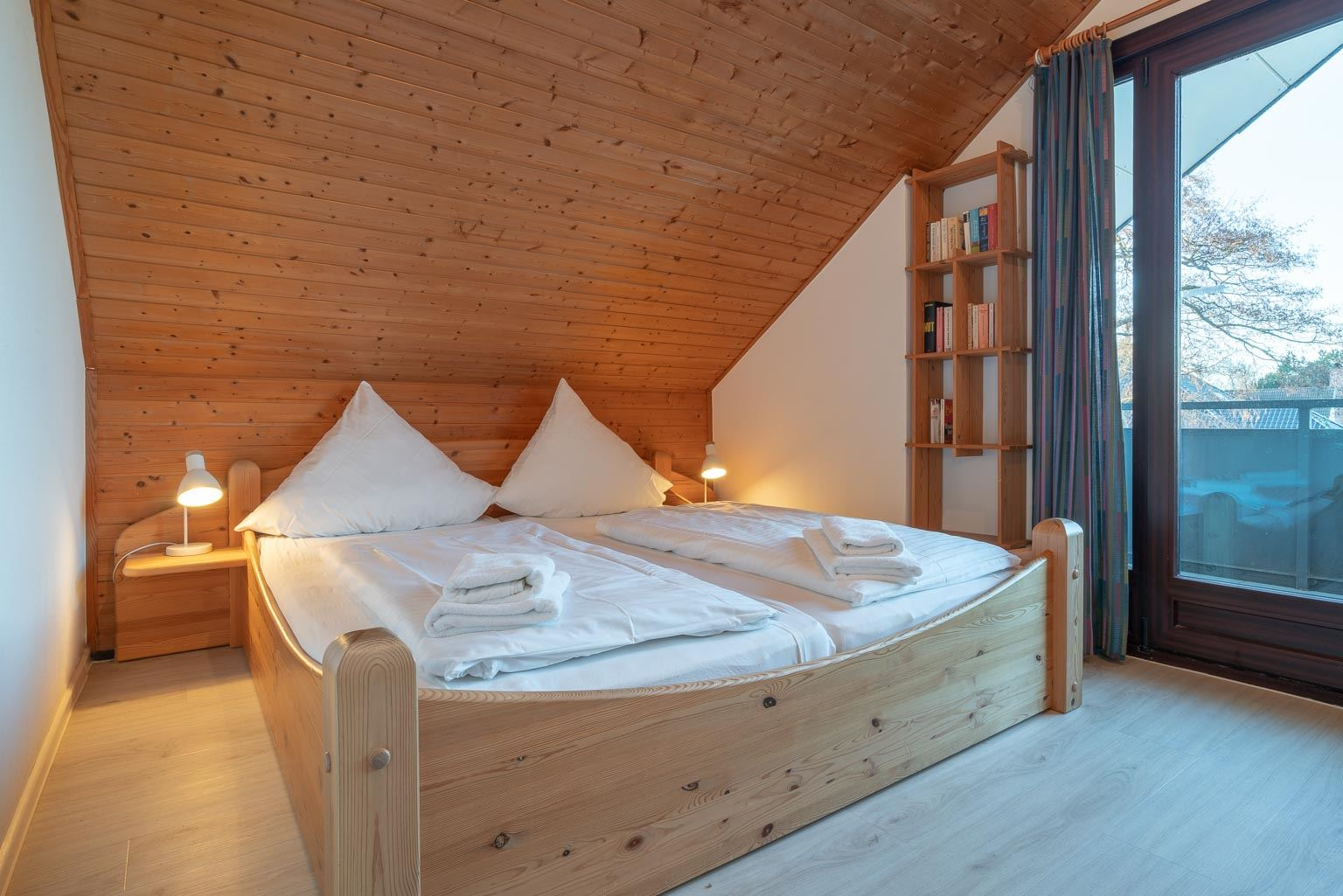 """1. Schlafzimmer - St Peter Ording Dorf, Ferienhaus Groener Weg 9, Hausteil 7 """"Grube"""""""