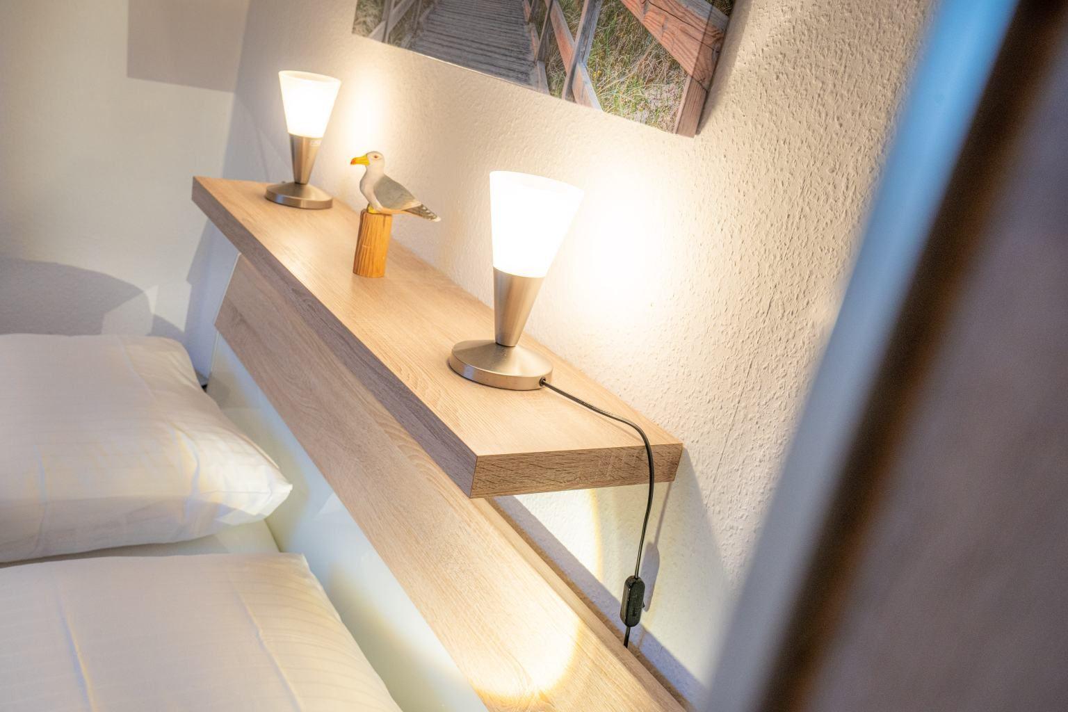 Schlafzimmerdetail