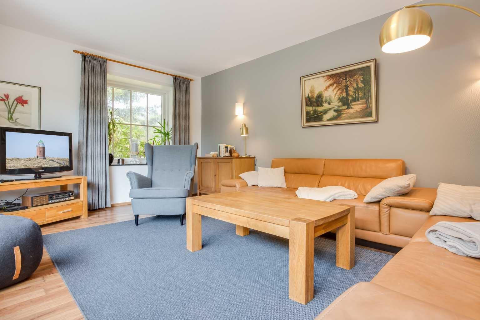 """Ferienhaus """"Das grüne Haus"""" - Wohnzimmer"""