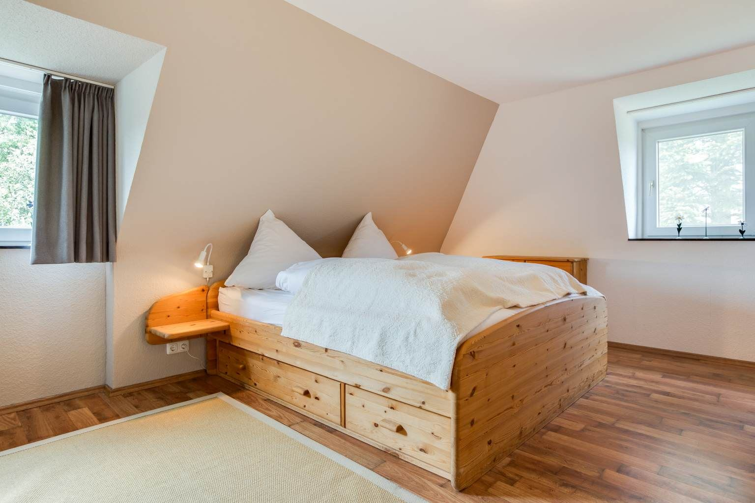 """Ferienhaus """"Das grüne Haus"""" - 1. Schlafzimmer"""