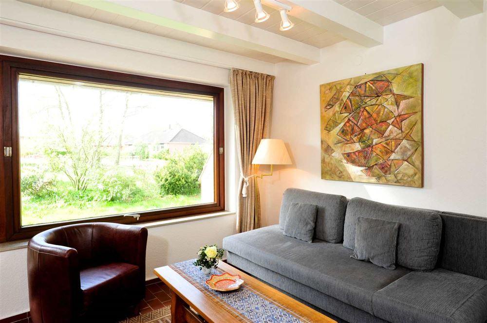 Ferienhaus Haus Wiesenblick Rechter Hausteil, St. Peter-Böhl, Region St. Peter-Ording - für bis zu 2 Personen.