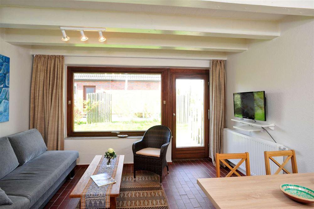 Ferienhaus Haus Wiesenblick Mittlerer Hausteil, St. Peter-Böhl, Region St. Peter-Ording - für bis zu 3 Personen.