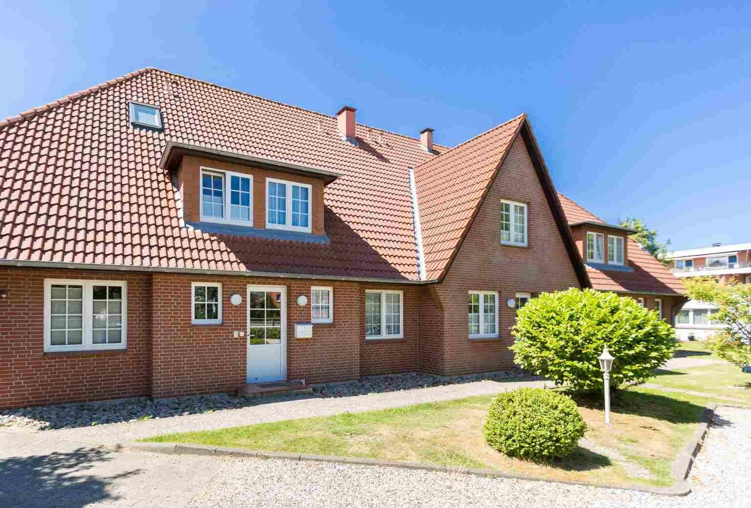 Aussenansicht Haus Nis Randers, Waldallee 20, St. Peter-Ording