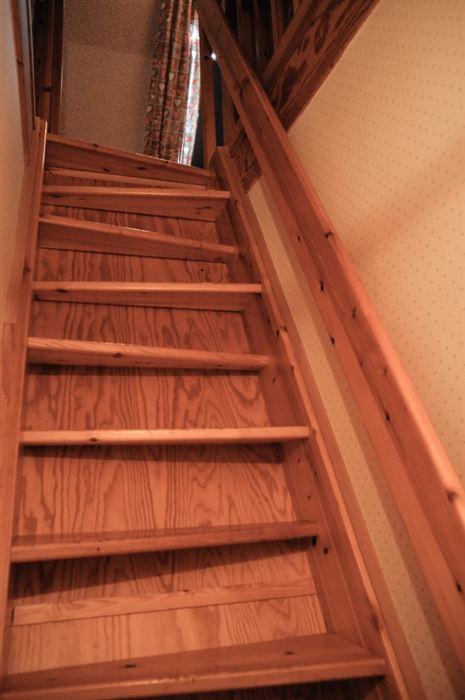 Treppe zum DG