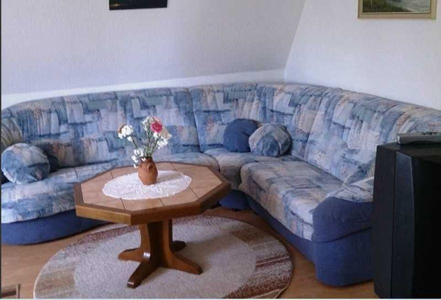 """Wohnzimmer - St Peter Ording Umgebung, Ferienhof Deblitz, Wohnung 3 """"Deichkinder"""""""