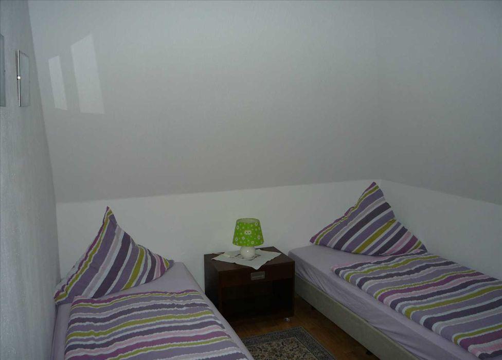 """Schlafzimmer - St Peter Ording Umgebung, Ferienhof Deblitz, Wohnung 3 """"Deichkinder"""""""