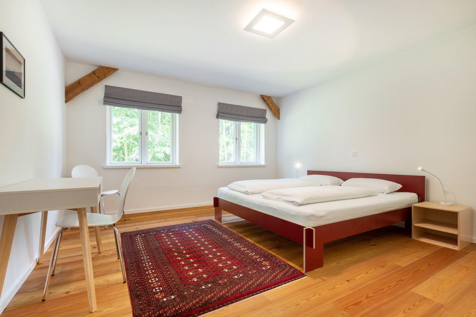 "1. Schlafzimmer - St Peter Ording Umgebung, The Old Barn, Suite ""Anna"", Koogstraße 9, Tümlauer Koog"