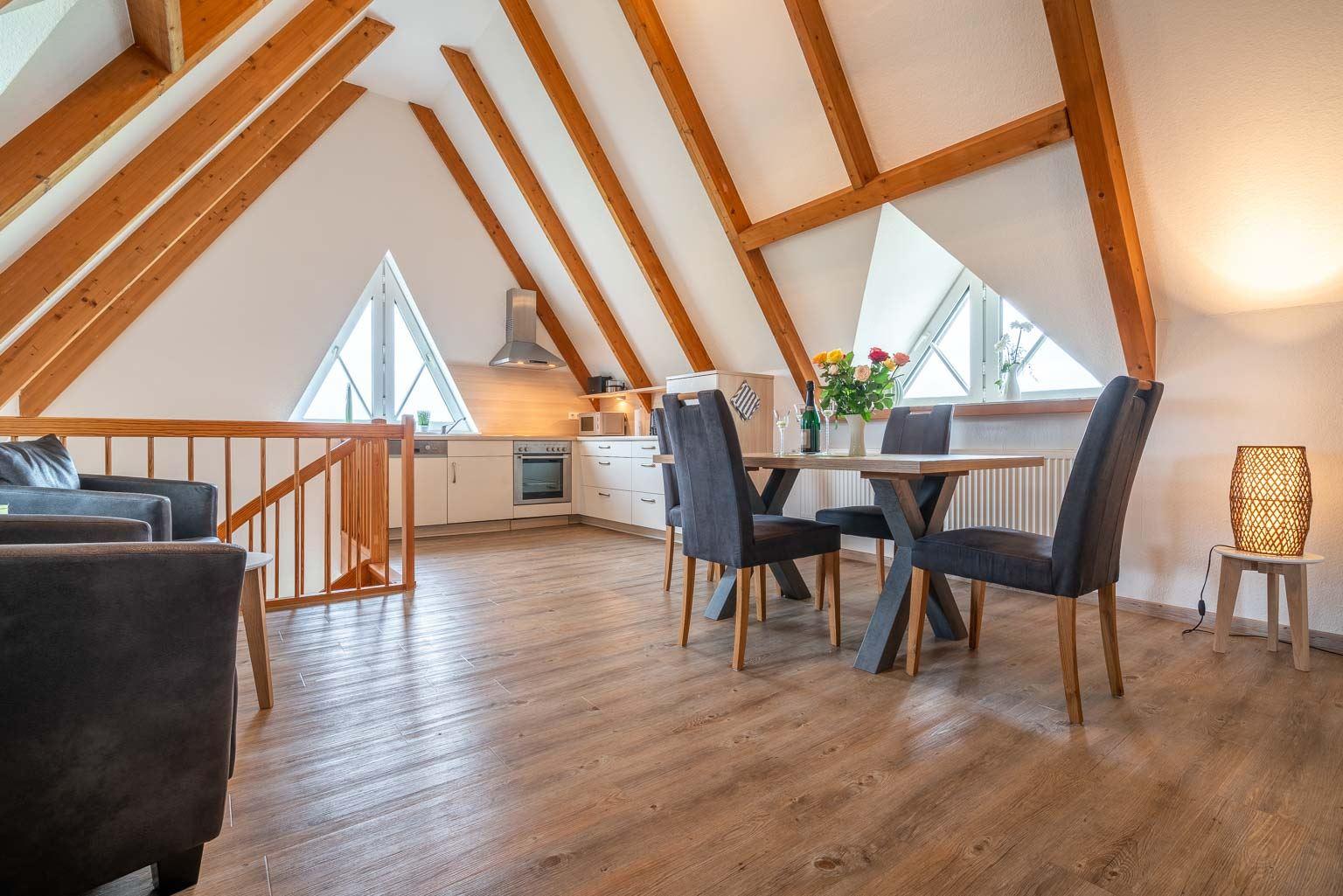 Ferienwohnung Haus Margarete Wohnung OG, St. Peter-Dorf, Region St. Peter-Ording - für bis zu 2 Personen.