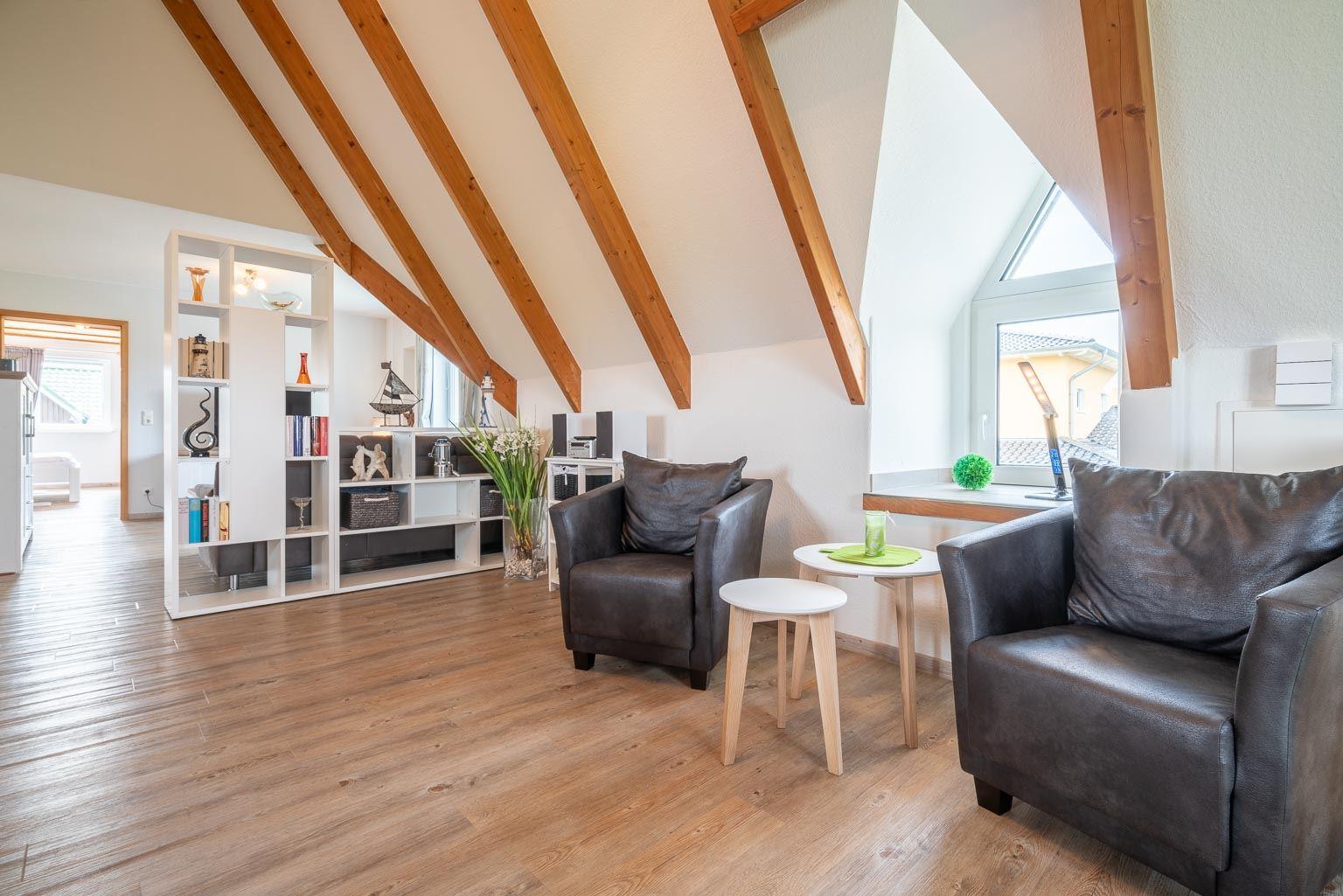 Haus Margarete -Wohnung OG - ruhiger Lesebereich