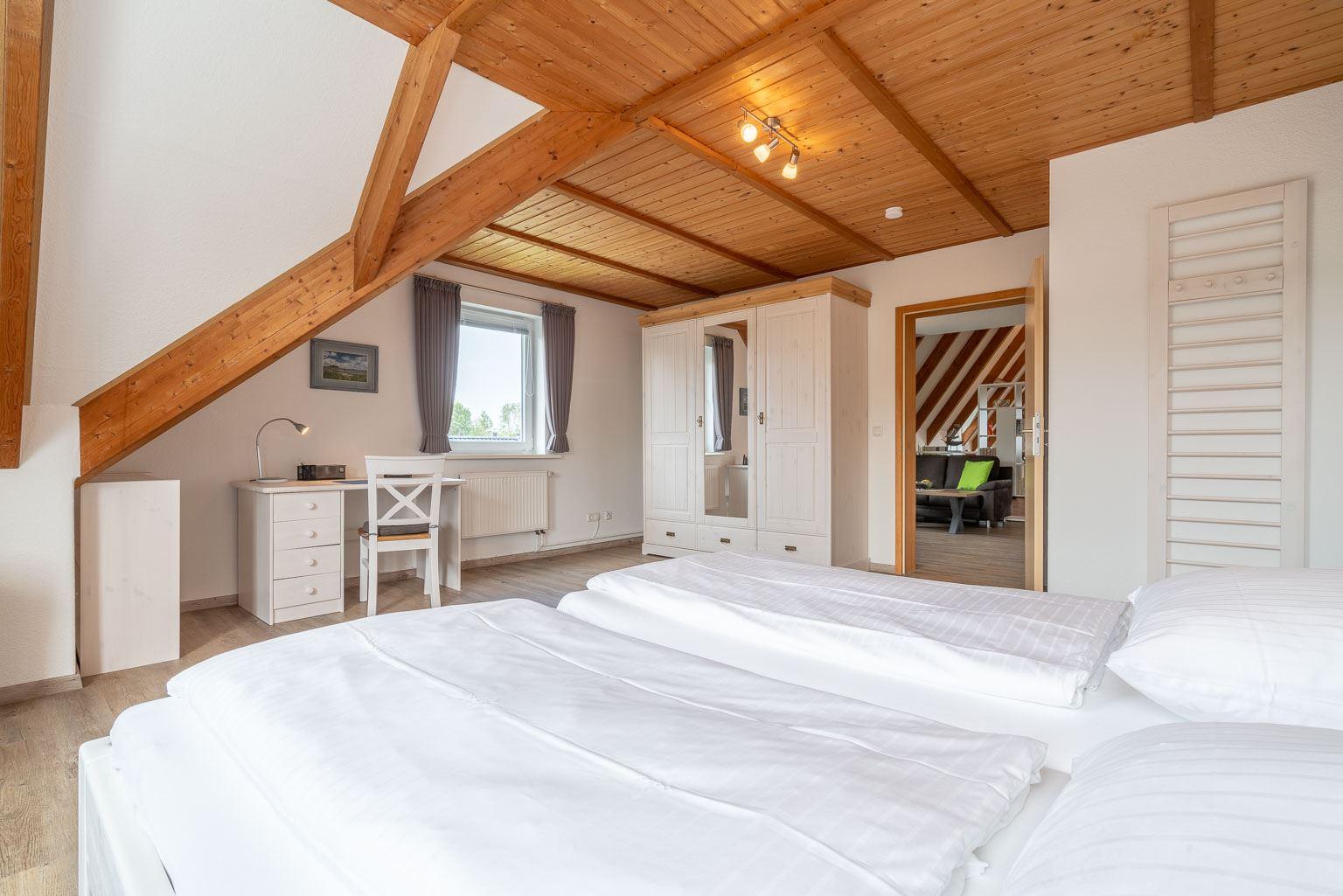 Haus Margarete -Wohnung OG - Schlafzimmer