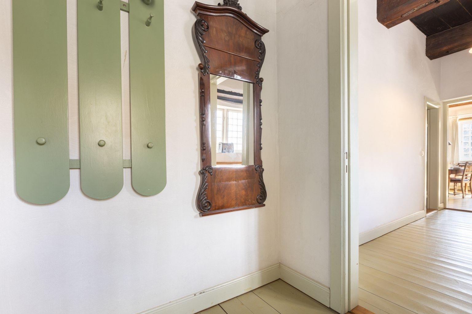 Garderobe im Eingangsbereich der Wohnung